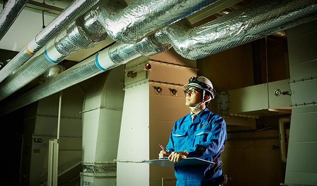 空調・給排水設備工事 工事事例