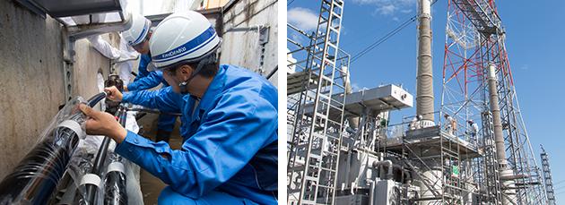 電力設備工事 工事事例