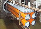 トンネル内機械式配管工法