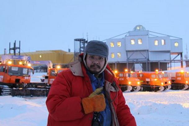 南極日記-上原隊員